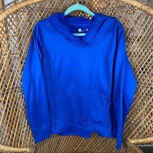Royal Blue Athletic Hoodie